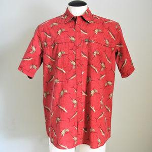 G.H. Bass & Co. Men's Short Sleeve Button Up Shirt